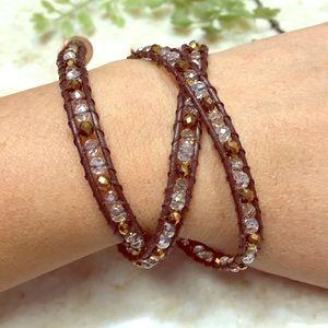 Brown Wraparound bracelet